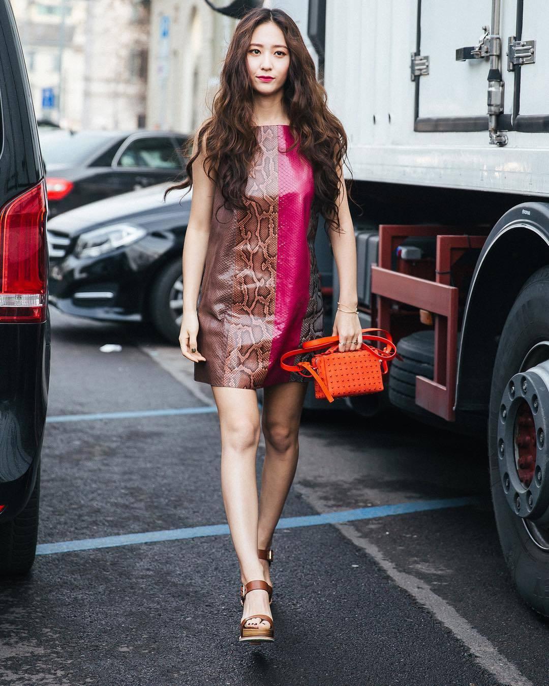 sao Kpop tham dự Tuần lễ Thời trang quốc tế 11