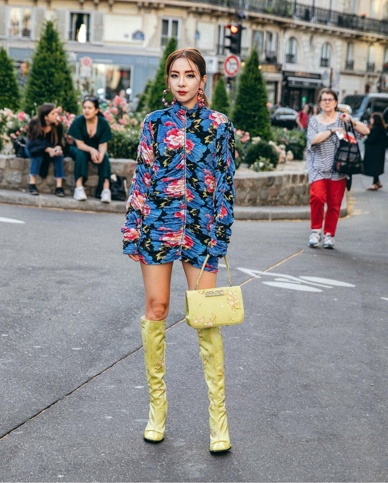 sao Kpop tham dự Tuần lễ Thời trang quốc tế 13