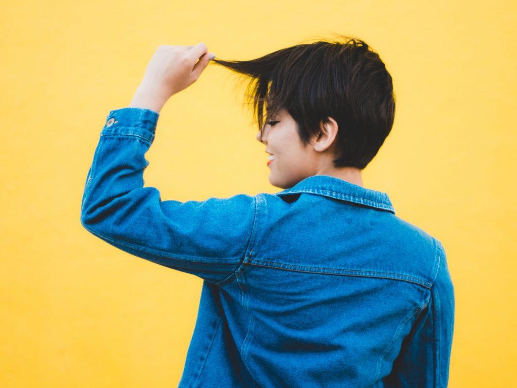 cắt tóc mái 1