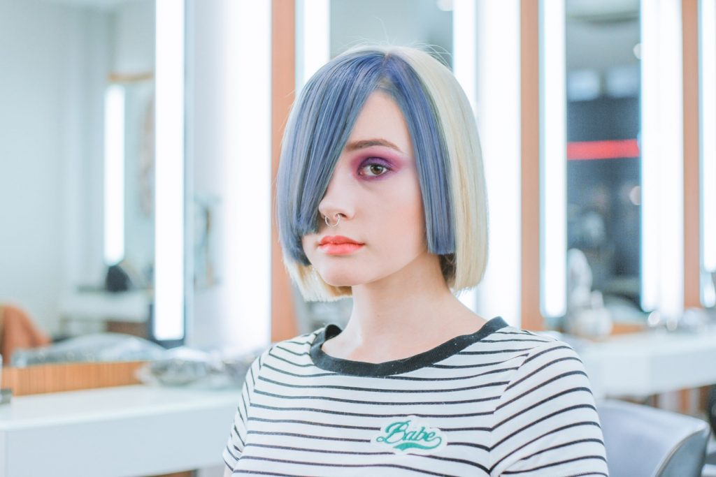 cắt tóc mái 2