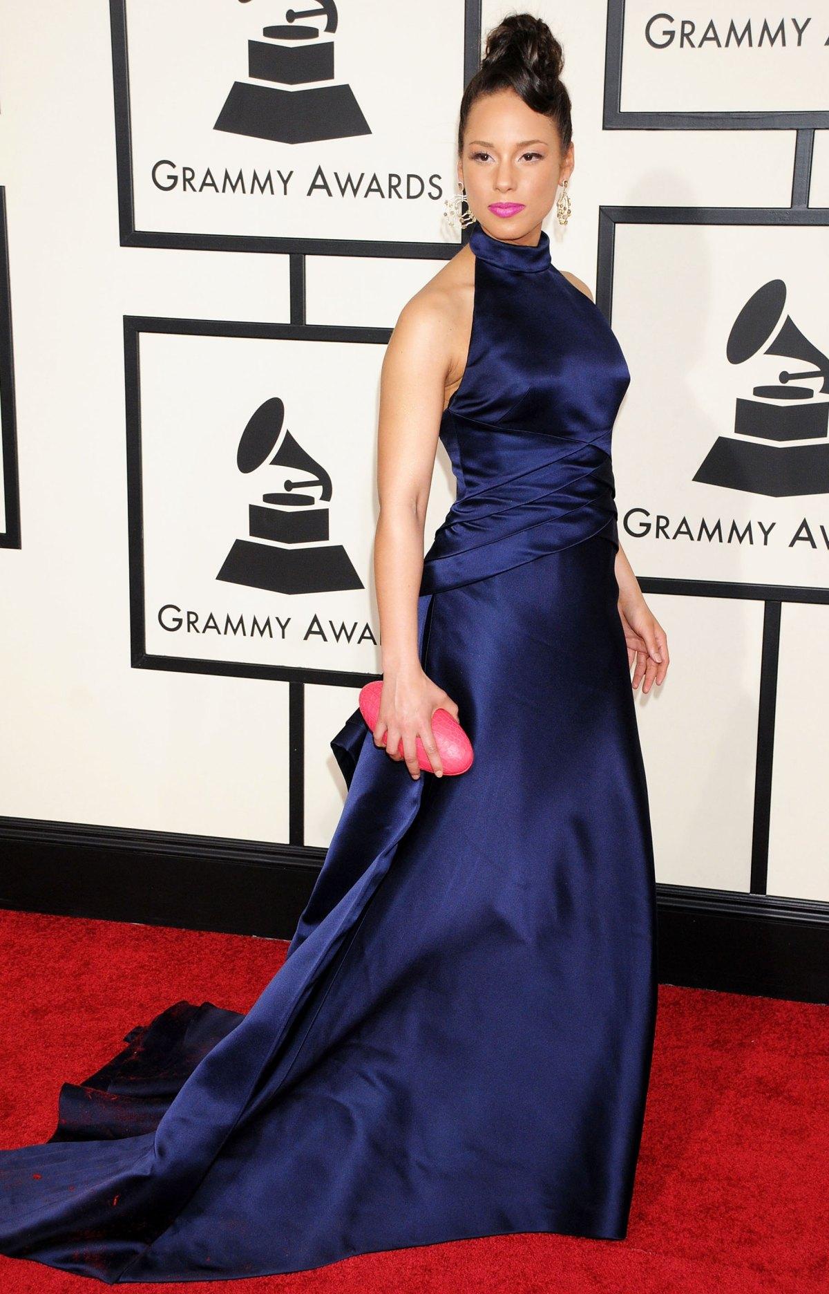 Thời trang thảm đỏ Alicia Keys