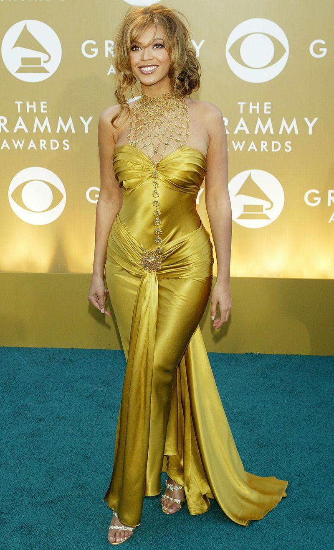 Thời trang thảm đỏ Grammy Beyonce