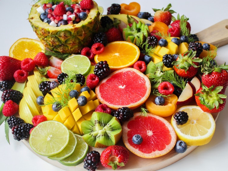 Chế độ ăn nhiều trái cây