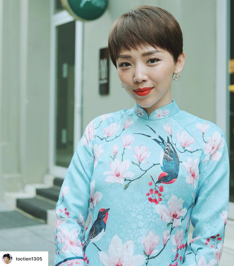 Thời trang Tết 2019 Tóc Tiên