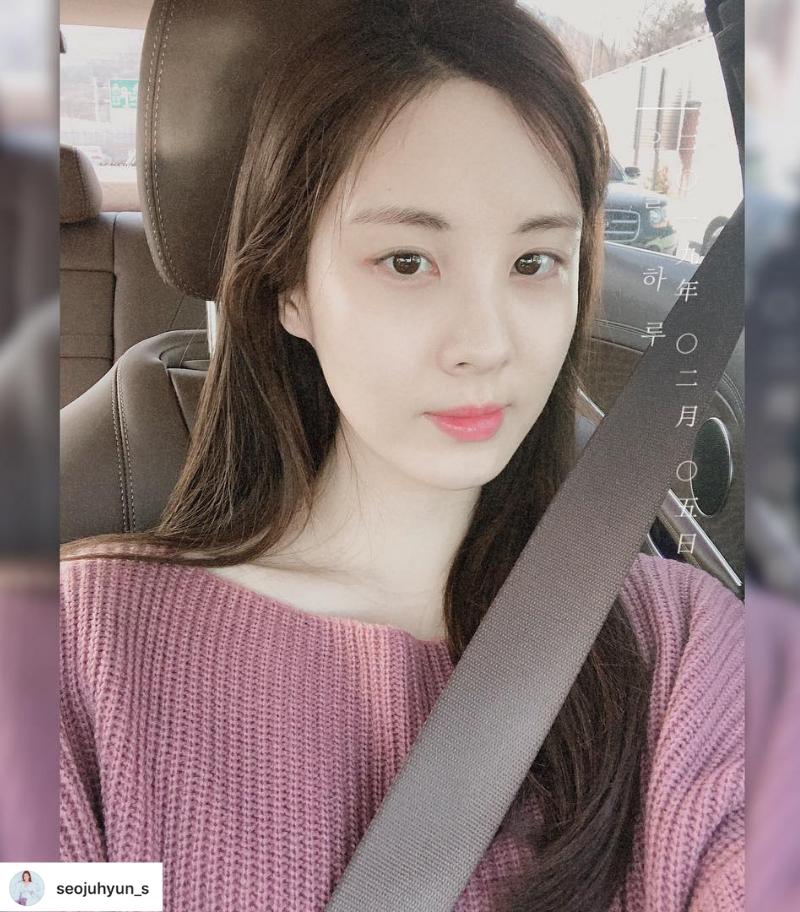 Thời trang Tết Kỷ Hợi Seo Hyun
