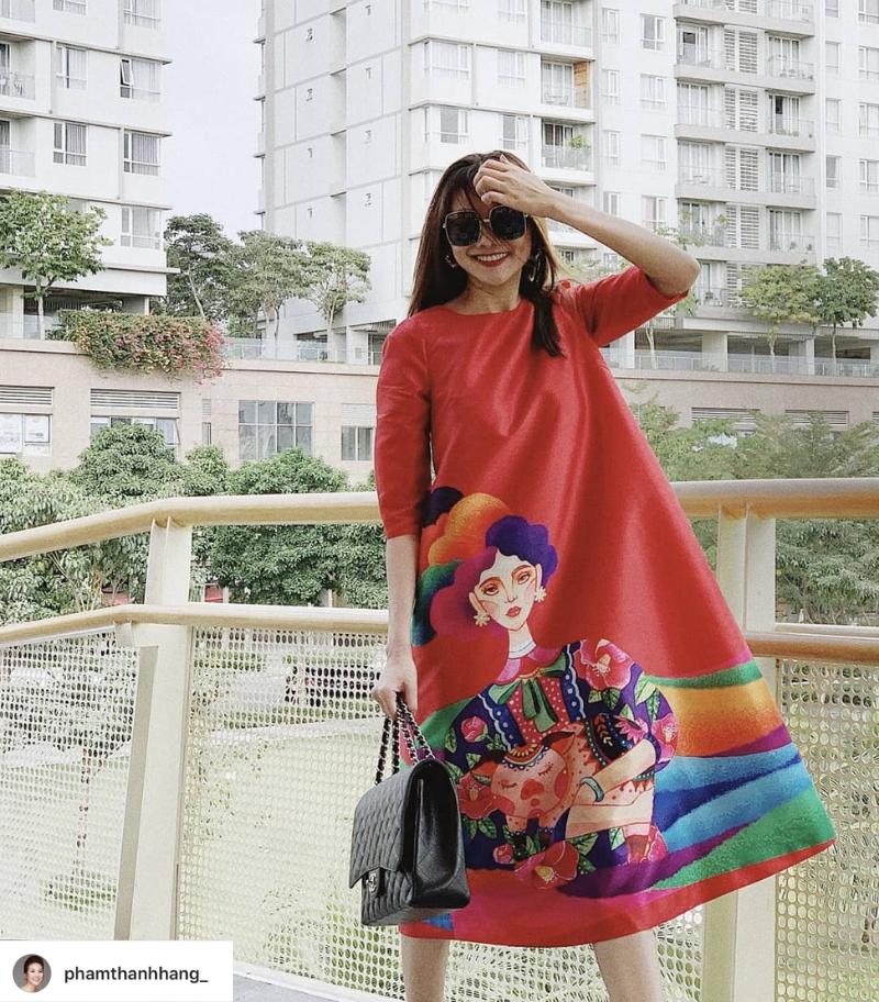 Thời trang Tết 2019 Thanh Hằng