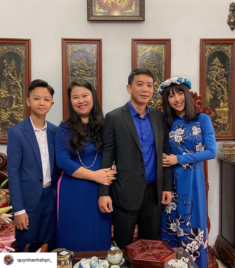 Thời trang Tết 2019 Quỳnh Anh Shyn