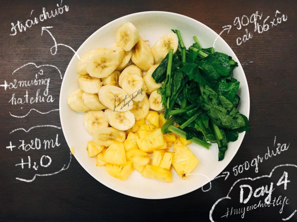 04 thử thách 12 ngày detox giảm cân nhanh từ 4 đến 7 kg