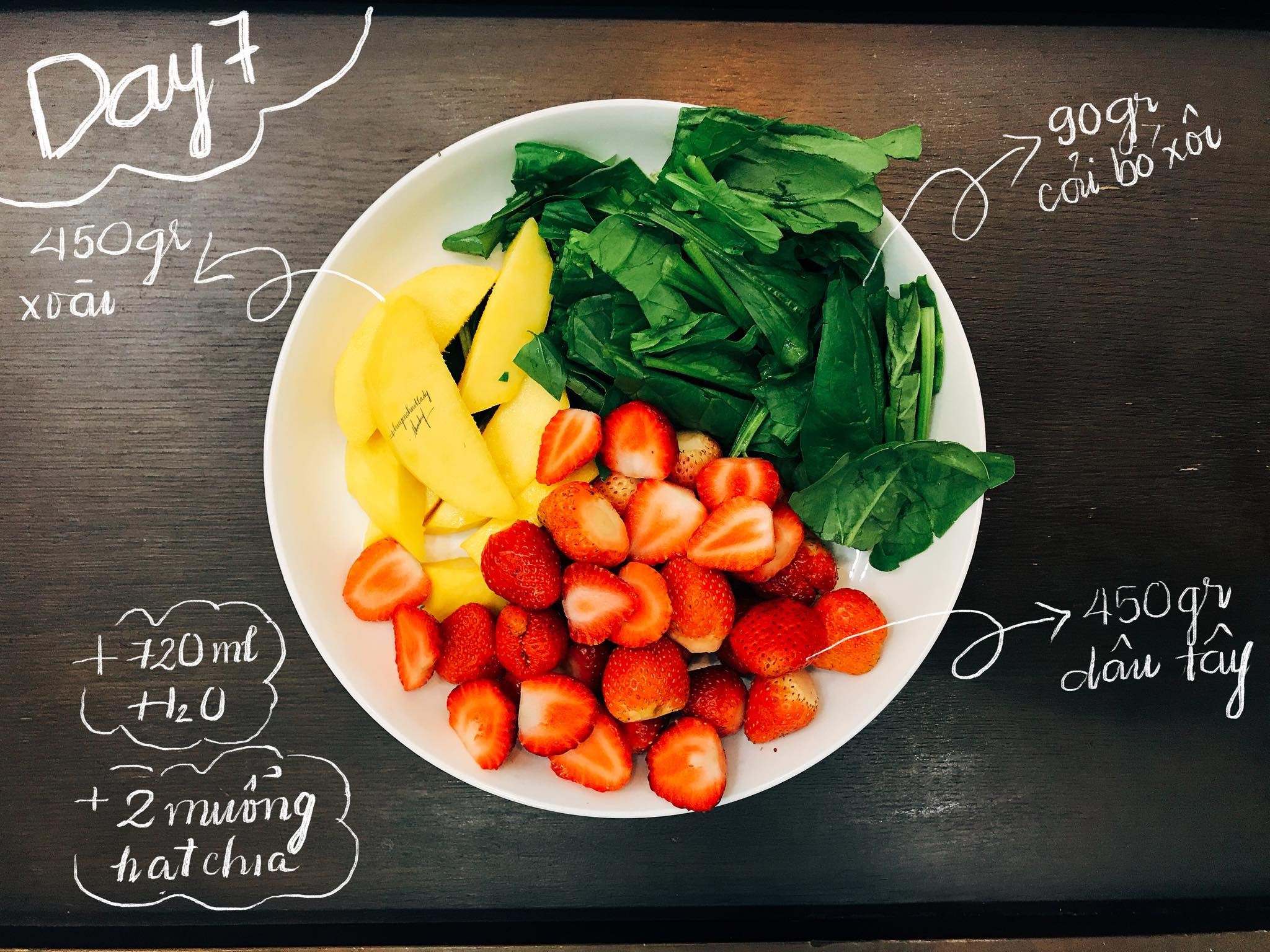 07 thử thách 12 ngày detox giảm cân nhanh từ 4 đến 7 kg