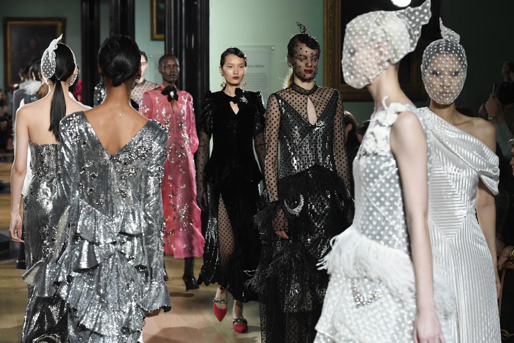 tuần lễ thời trang london Thu - Đông 2019 8