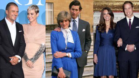 Sự tương đồng giữa nhẫn đính hôn của Katy Perry và gia đình hoàng gia Anh