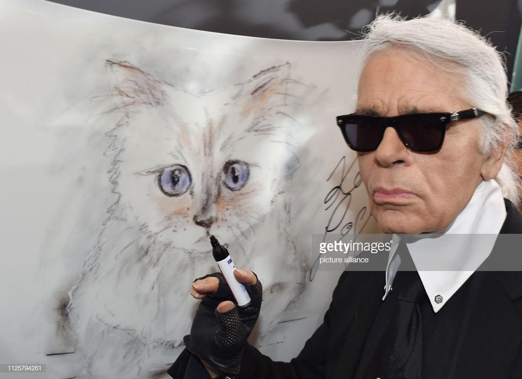 65 năm của Karl Lagerfeld 5