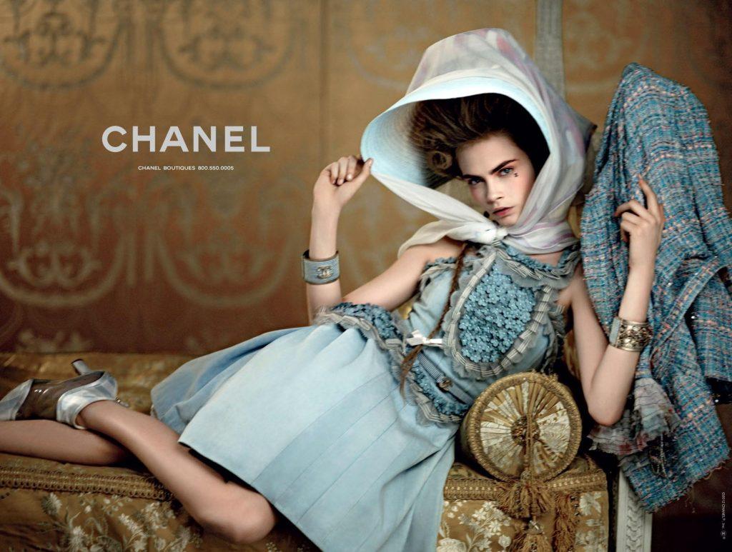 Karl Lagerfeld và nàng thơ của ông