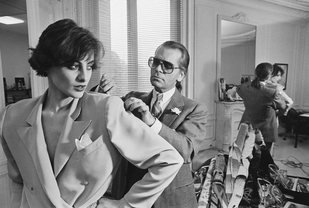 Karl Lagerfeld và nàng Thơ Ines de la Fressange
