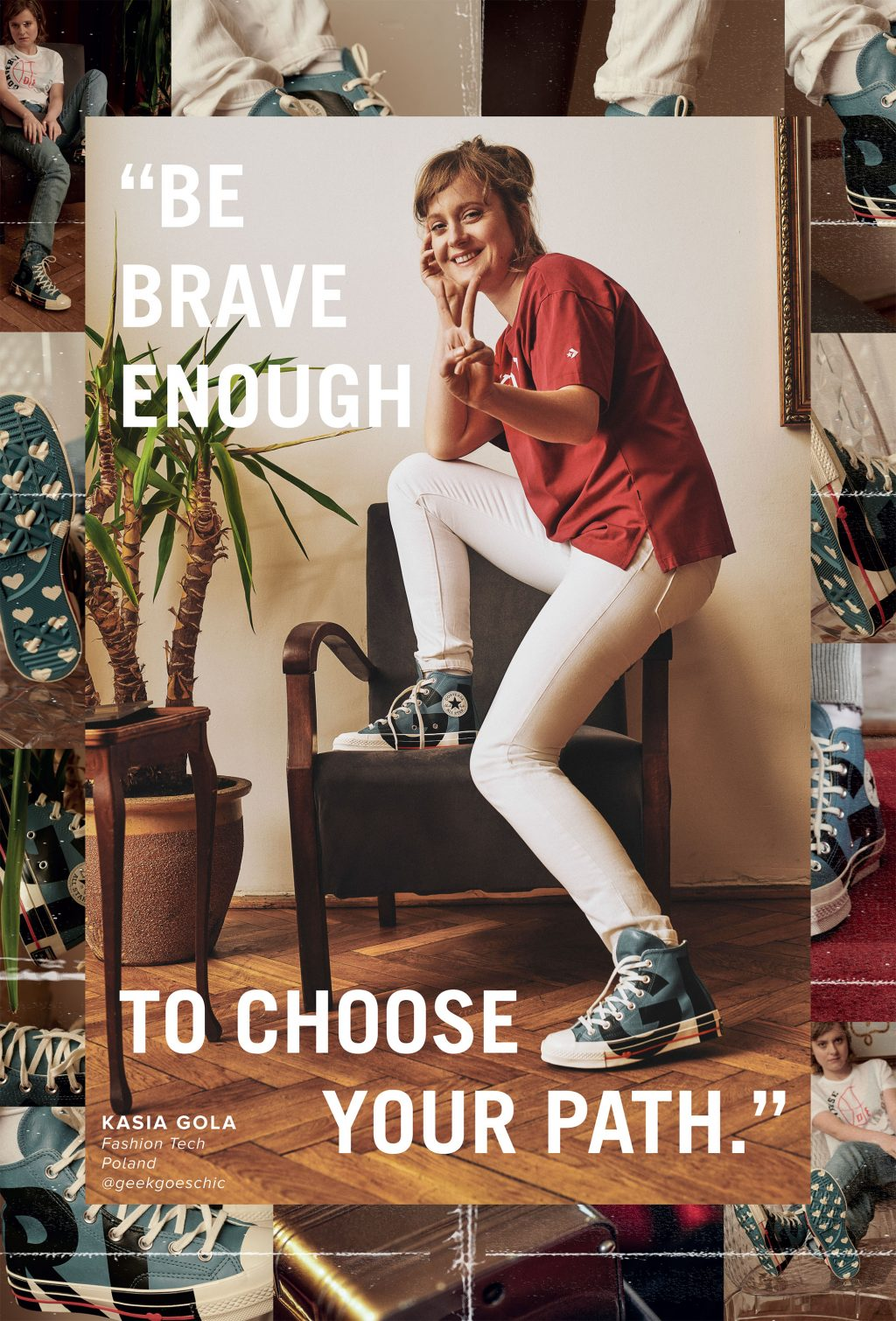 Millie Bobby Brown cùng Converse ủng hộ nữ quyền 5