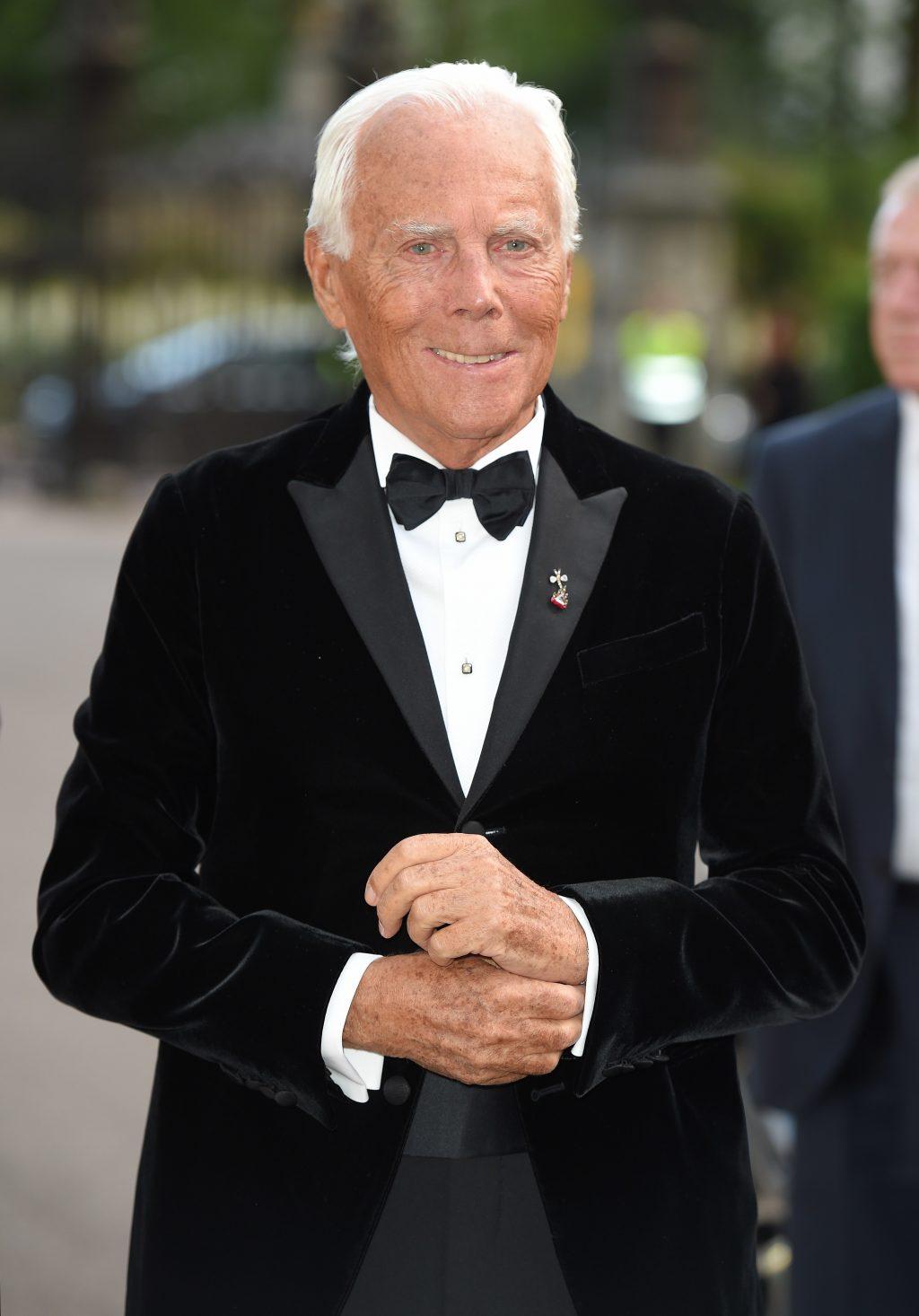 nhà thiết kế giorgio armani