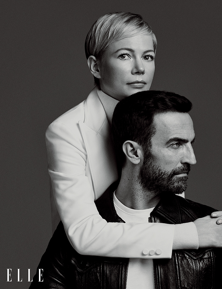 Michelle Williams và Nicolas Ghesquière