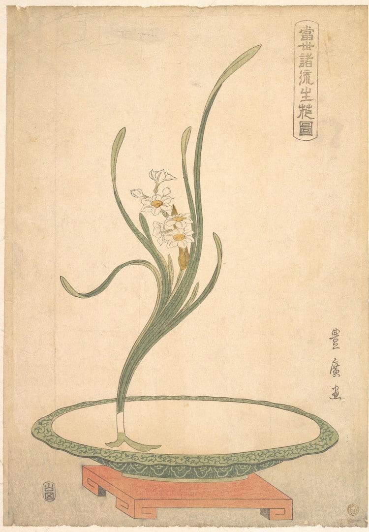 Nghệ thuật cắm hoa truyền thống Ikebana của Nhật Bản