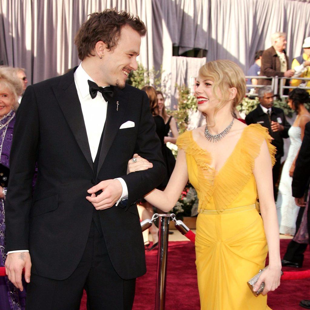 Michelle Williams và Heath Ledger Oscar 2006 2