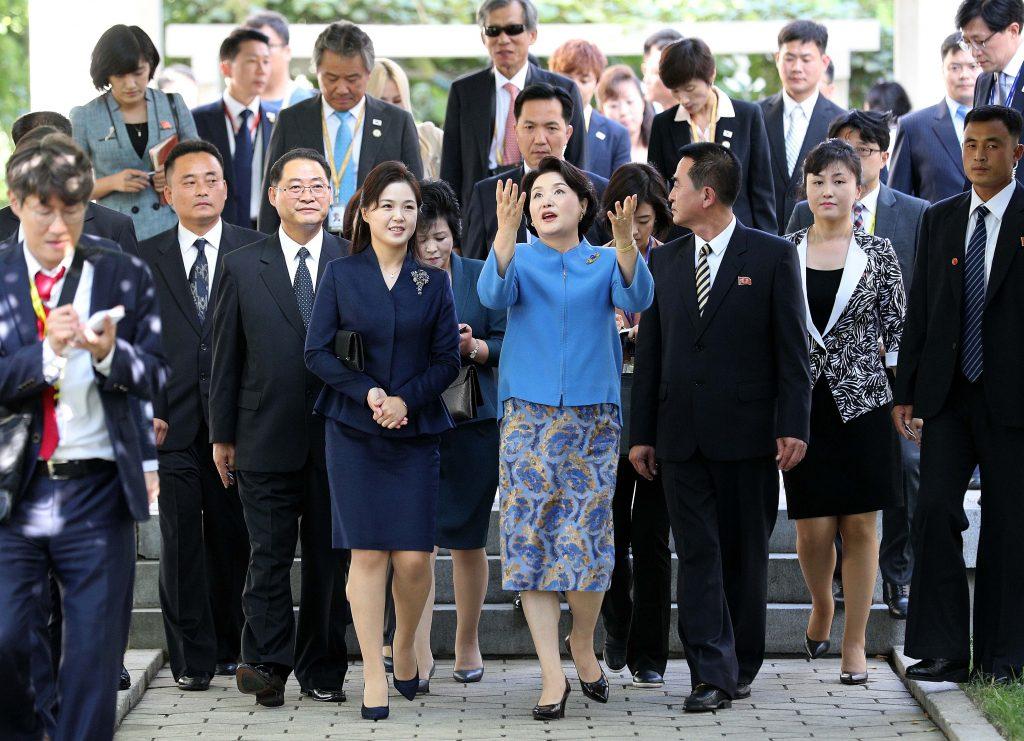 vợ kim jong un 4