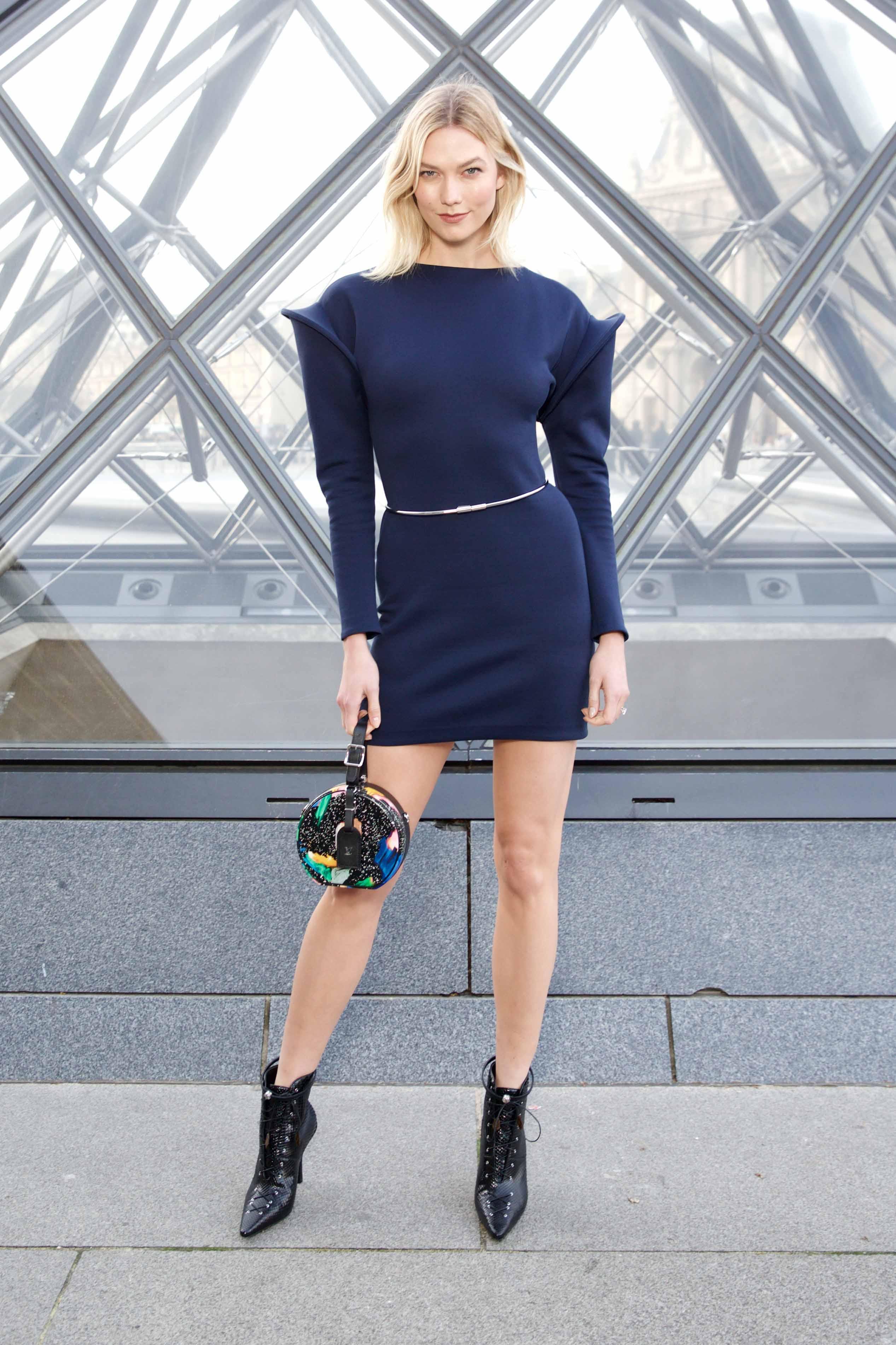 sao hàng ghế đầu tuần lễ thời trang paris show louis vuitton 2