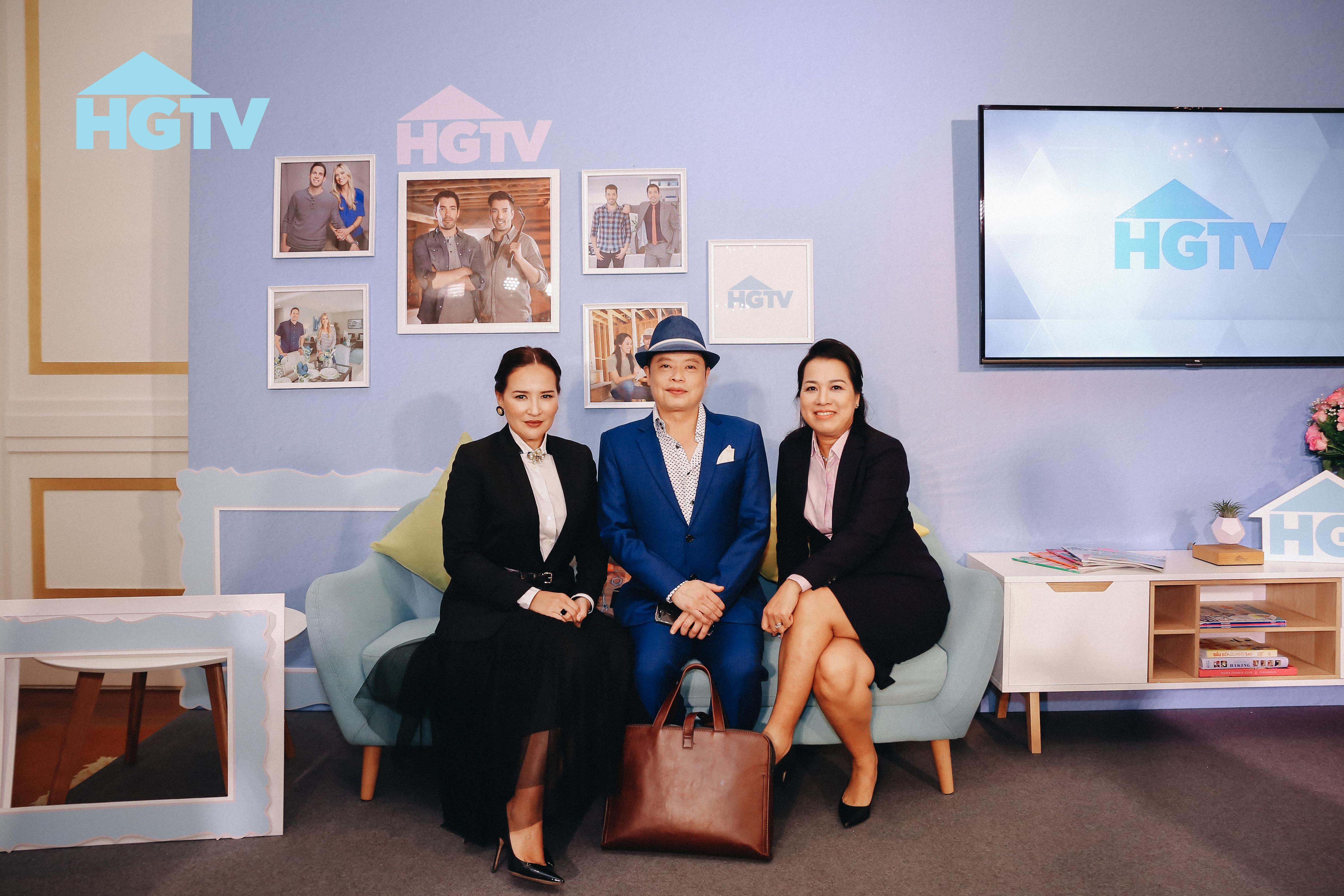 """Discovery Networks """"bắt tay"""" công ty giải trí Thảo Lê ra mắt kênh truyền hình HGTV 3"""