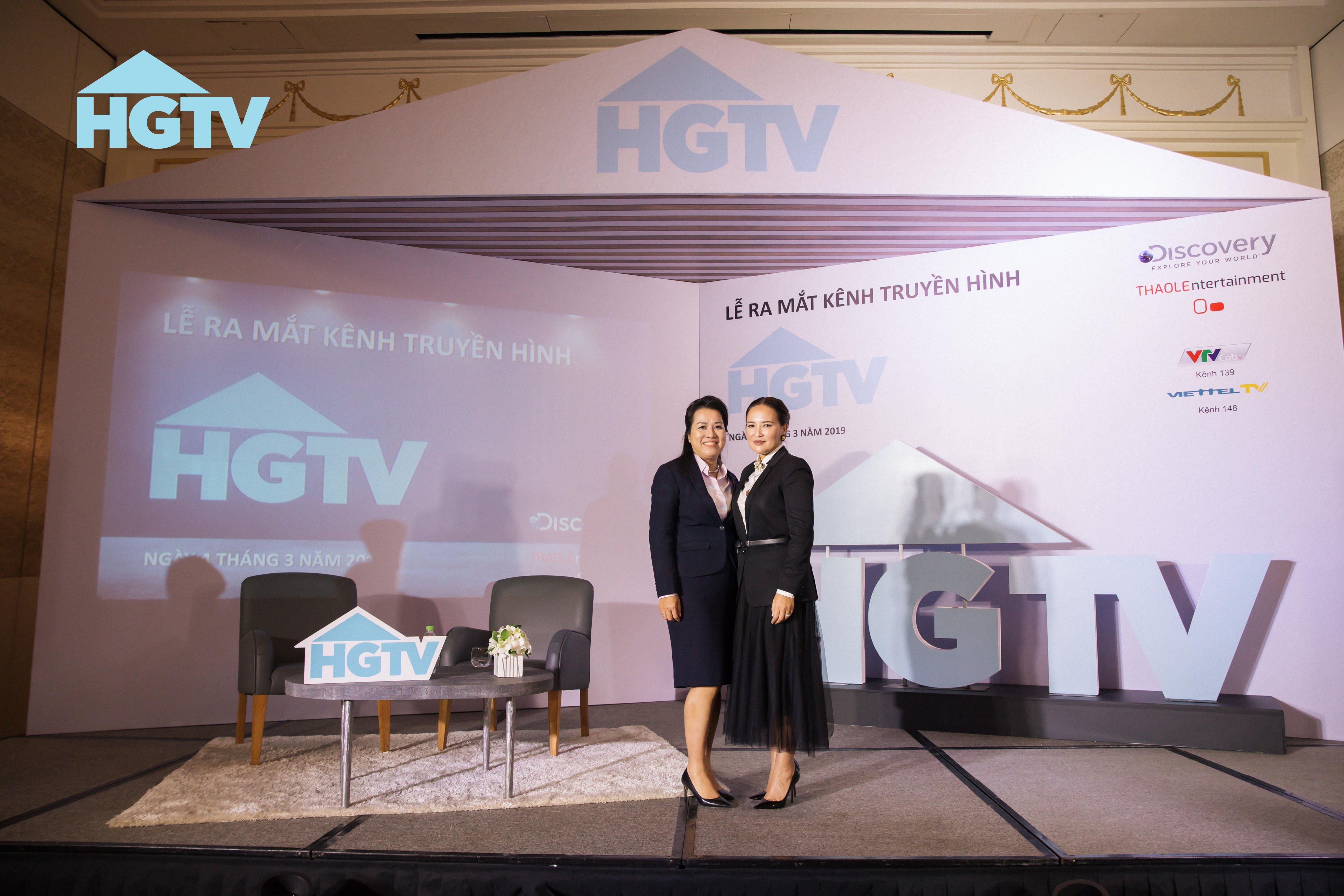 """Discovery Networks """"bắt tay"""" công ty giải trí Thảo Lê ra mắt kênh truyền hình HGTV 4"""