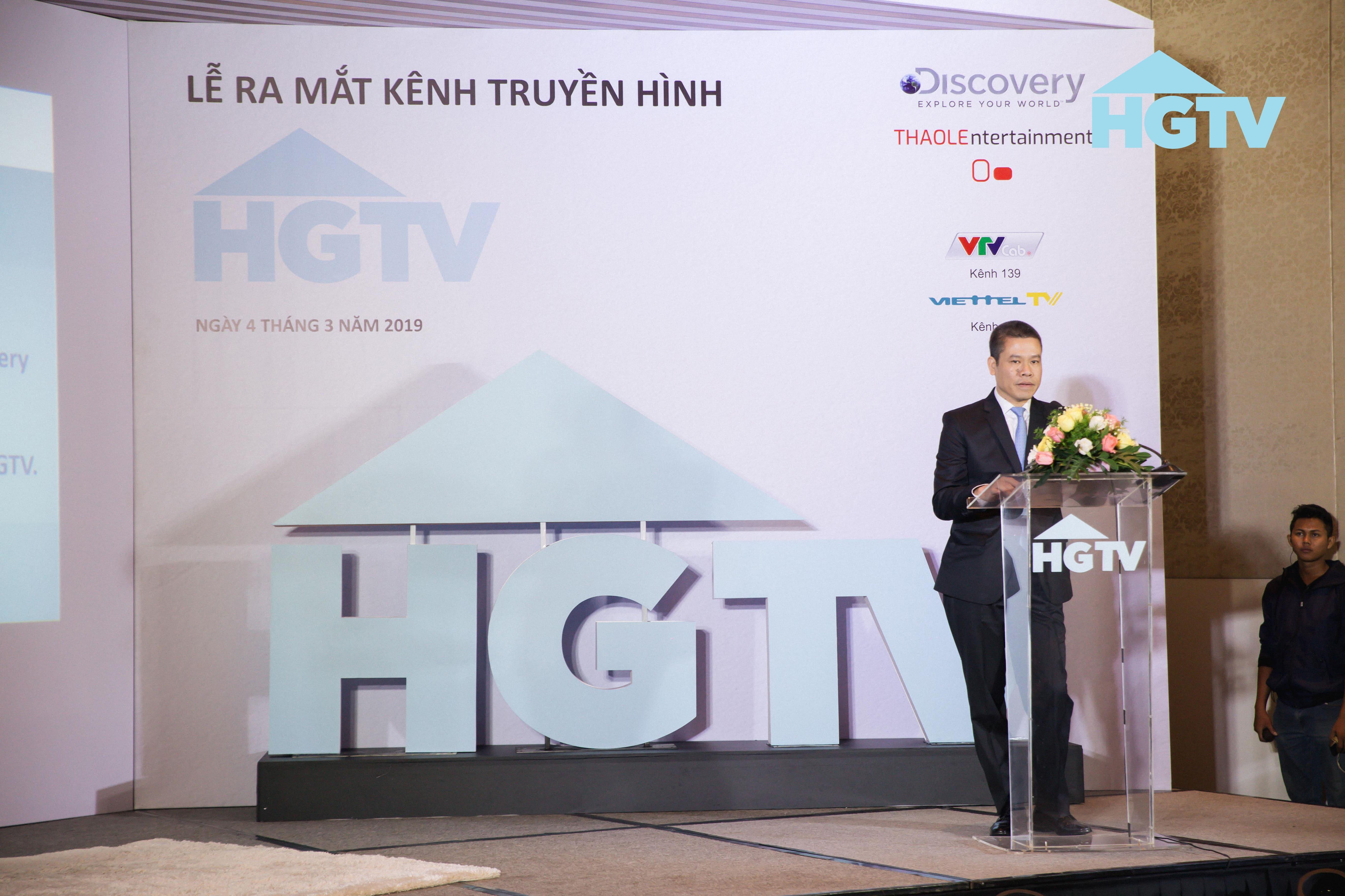 """Discovery Networks """"bắt tay"""" công ty giải trí Thảo Lê ra mắt kênh truyền hình HGTV 6"""