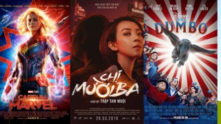 Giới thiệu phim chiếu rạp tháng 3/2019