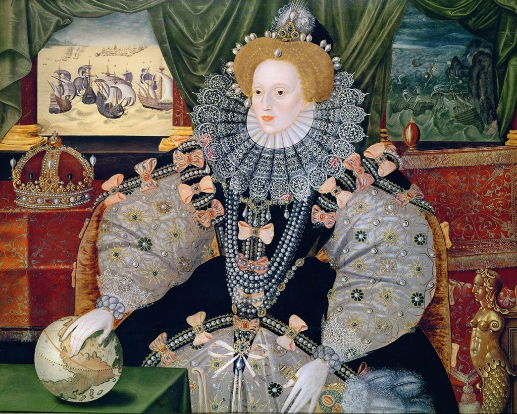 cách làm trắng da như nữ hoàng Elizabeth 1