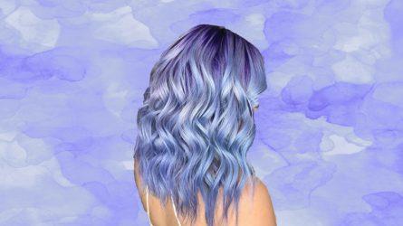 Periwinkle - Xu hướng tóc nhuộm đẹp khó cưỡng