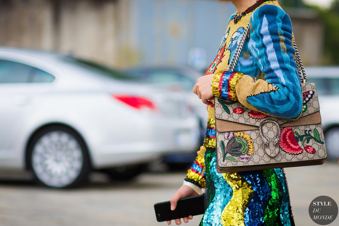 phong cách thời trang maximalism nhiều họa tiết