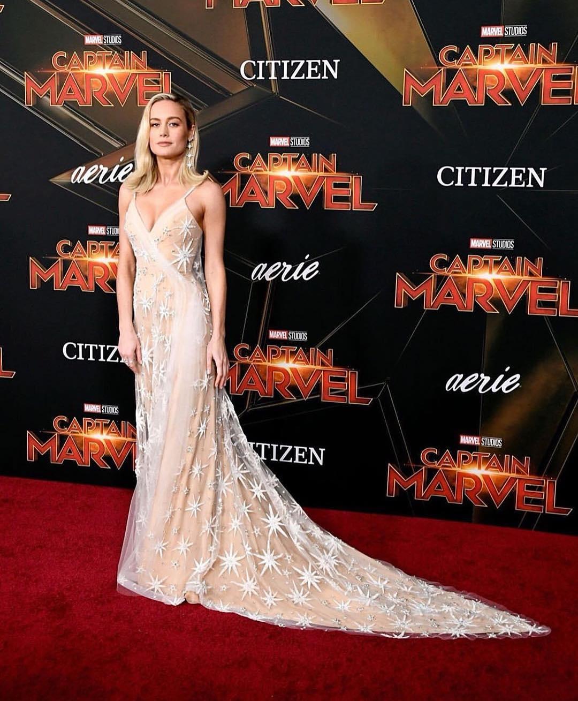 phong cách thời trang Brie Larson