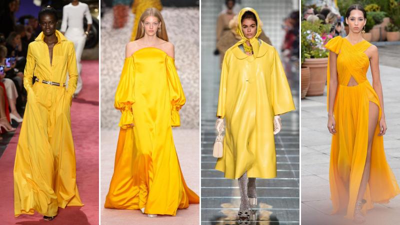 quốc tế hạnh phúc trang phục màu vàng 2