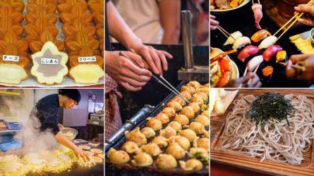 Đi ngắm hoa anh đào, đừng quên trải nghiệm ẩm thực Nhật Bản