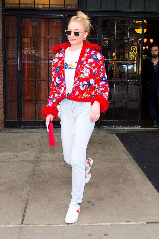 Phong cách thời trang Sophie Turner 12