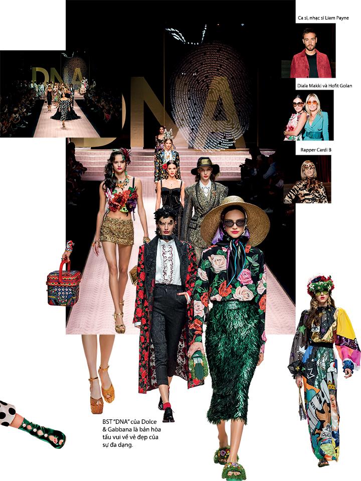 Tuần lễ thời trang Xuân - Hè 2019 Dolce & Gabbana