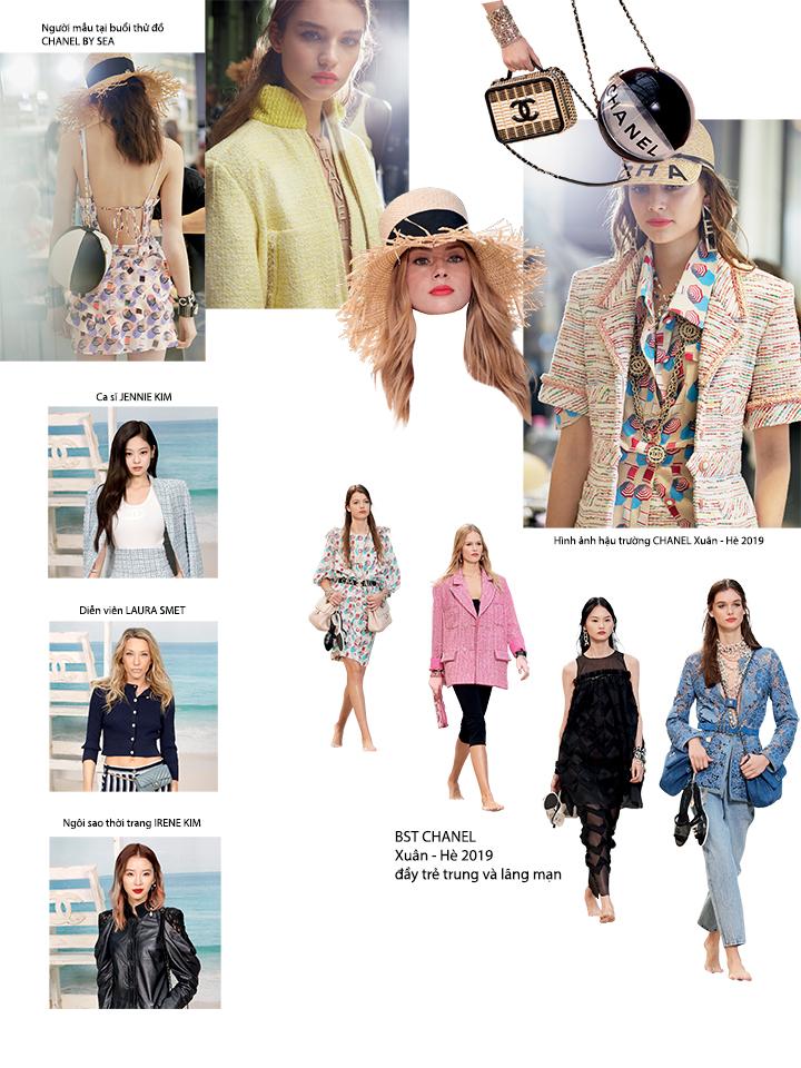 Tuần lễ thời trang Xuân - Hè 2019 Chanel 2