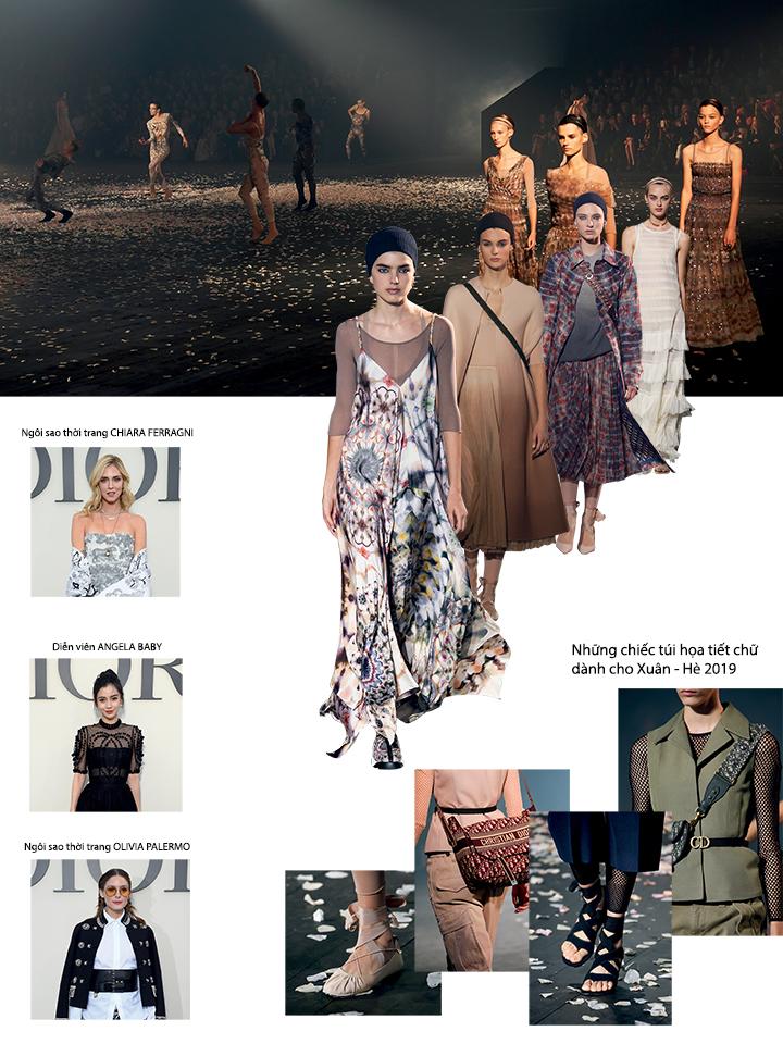 Tuần lễ thời trang Xuân - Hè 2019 Dior 1