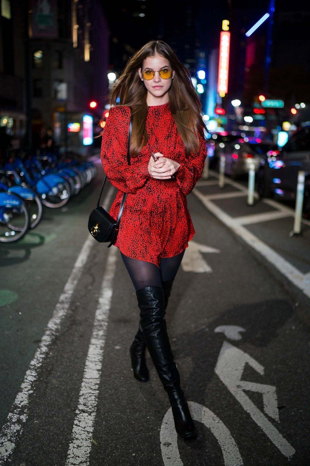 phong cách thời trang đầy lôi cuốn của Barbara Palvin 6