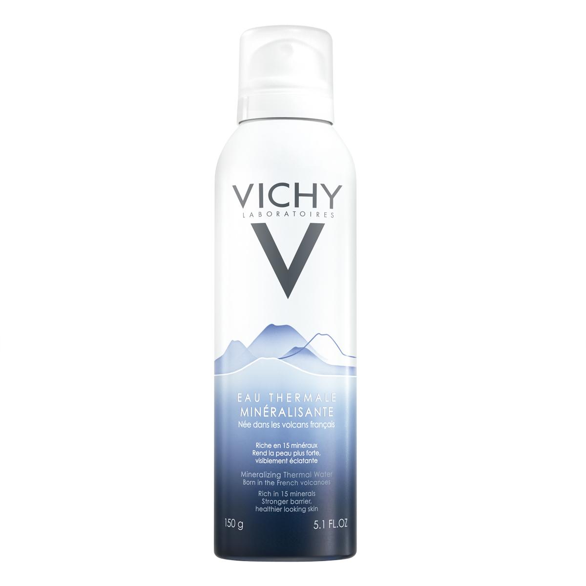 DƯỡng da từ xịt khoáng Vichy