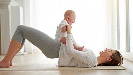 ELLE Women in Society tháng 3/2019: Các bài tập đơn giản giúp lấy lại vóc dáng sau sinh ngay tại nhà