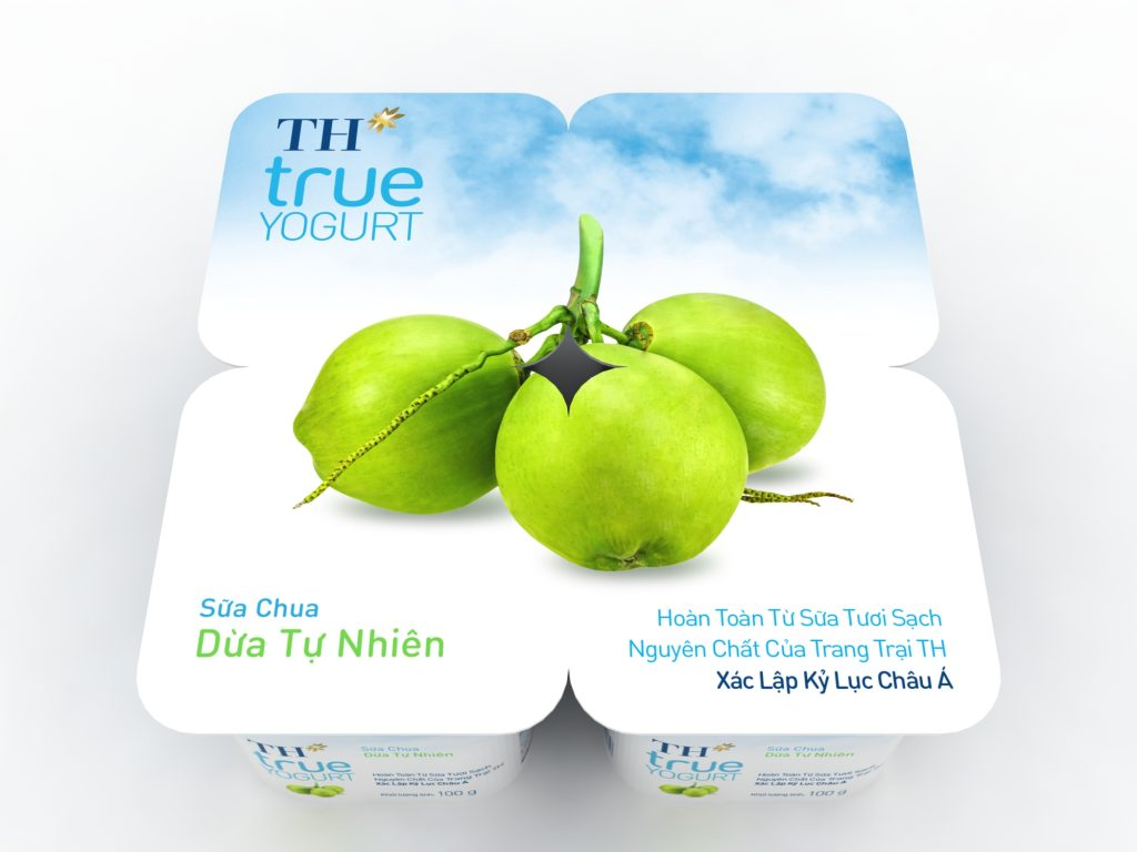 sữa chua dừa TH True Yogurt 2