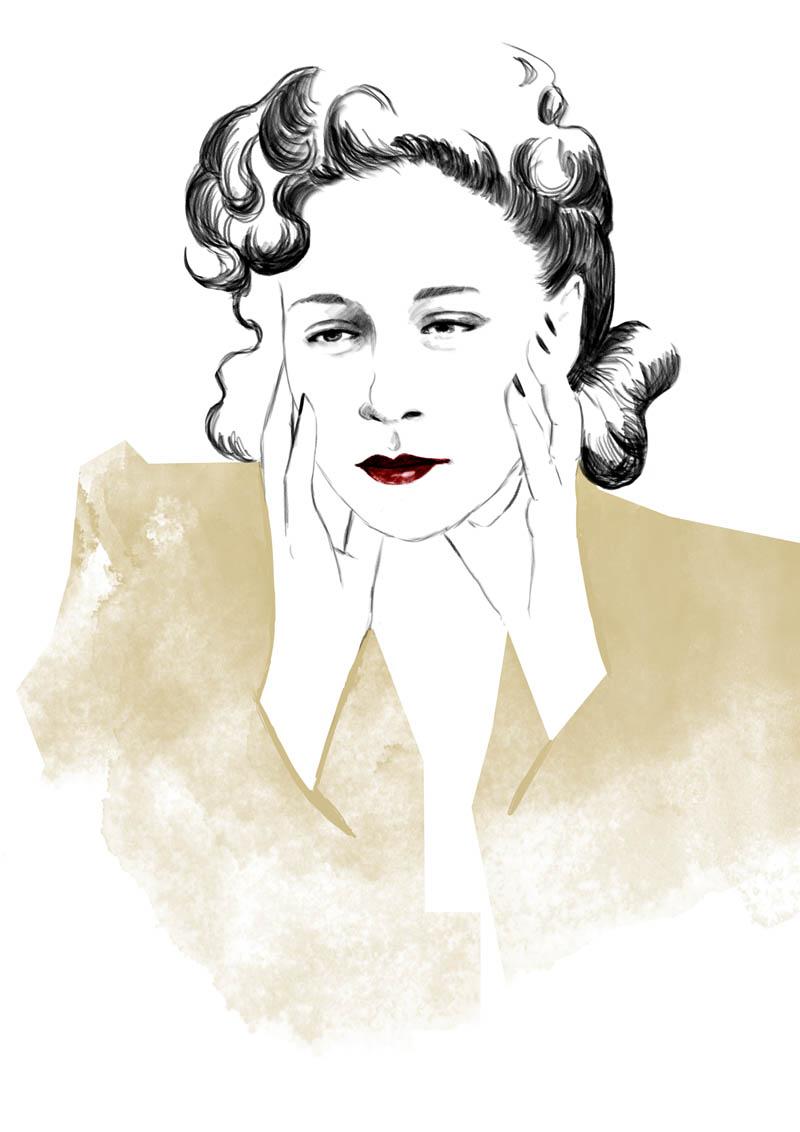 chân dung nhà thiết kế Gaby Aghion