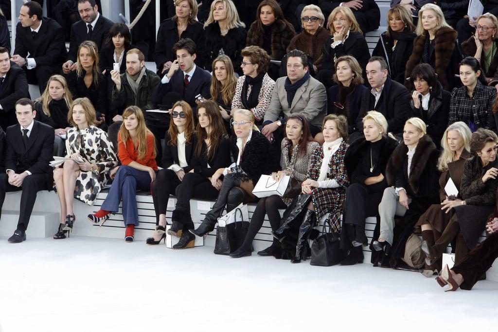 khách mời tham gia bộ sưu tập Haute Couture
