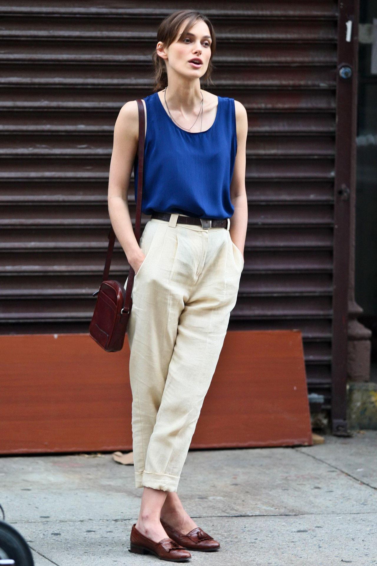 phong cách thời trang Keira Knightley 1
