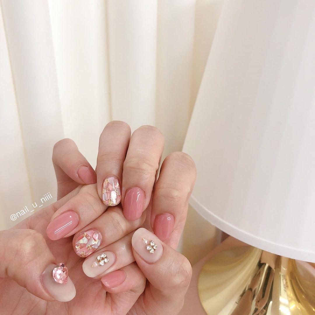 13 mẫu sơn móng tay Hàn Quốc