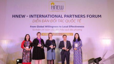 """Hiệp hội Nữ Doanh Nhân Hà Nội tổ chức """"Diễn đàn đối tác quốc tế - Từ thiện chí toàn cầu đến hiệu quả địa phương"""""""