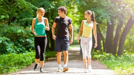 Đi bộ ít phút mỗi ngày sẽ giúp giảm mỡ bụng hiệu quả, sao bạn chưa thử?
