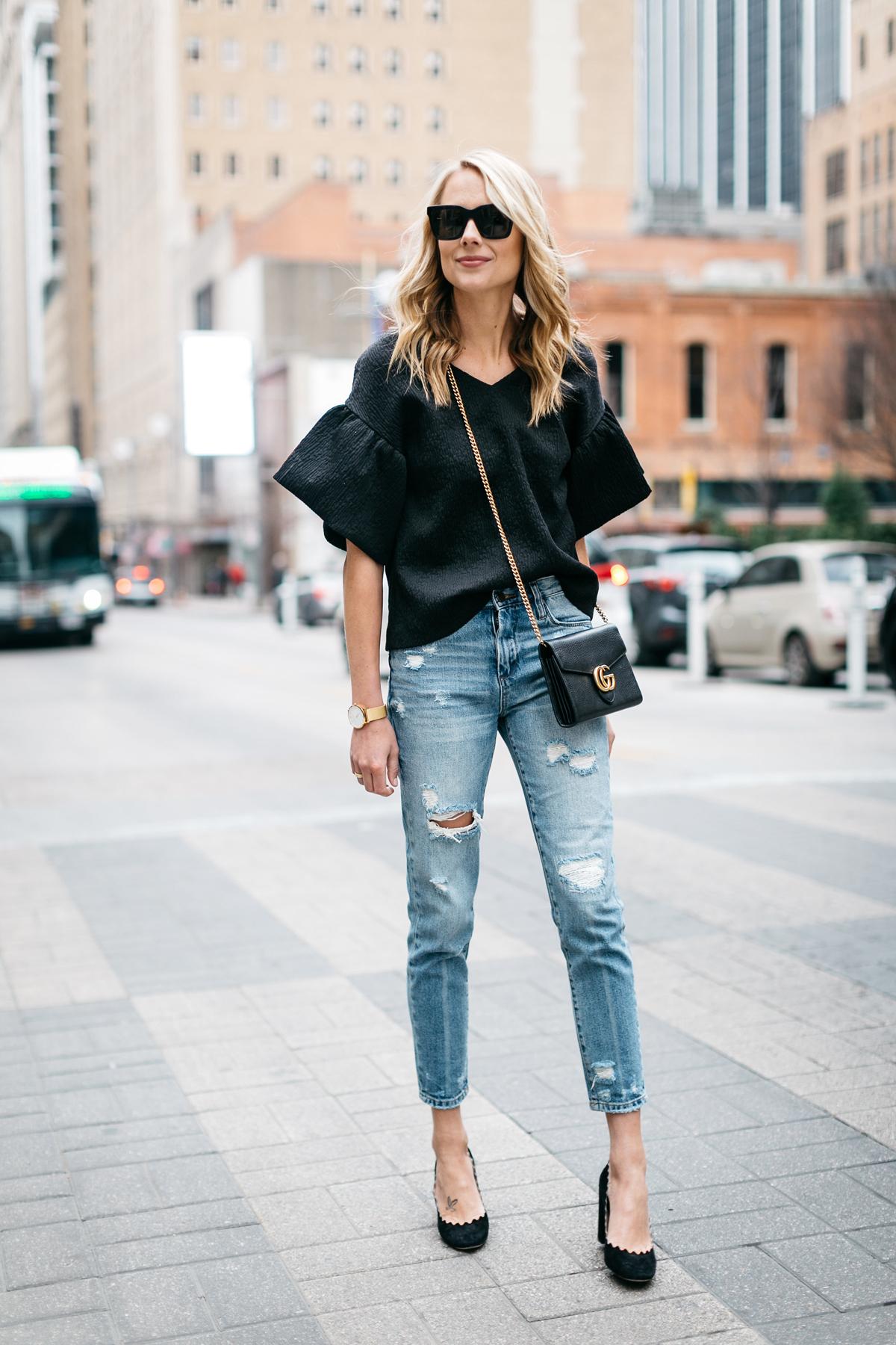 diện quần jeans mỗi ngày 1